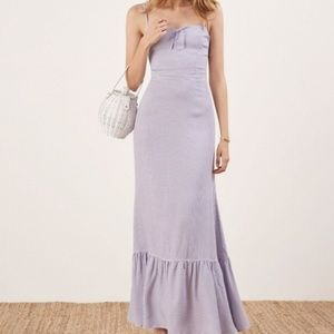 New REFORMATION prairie maxi dress